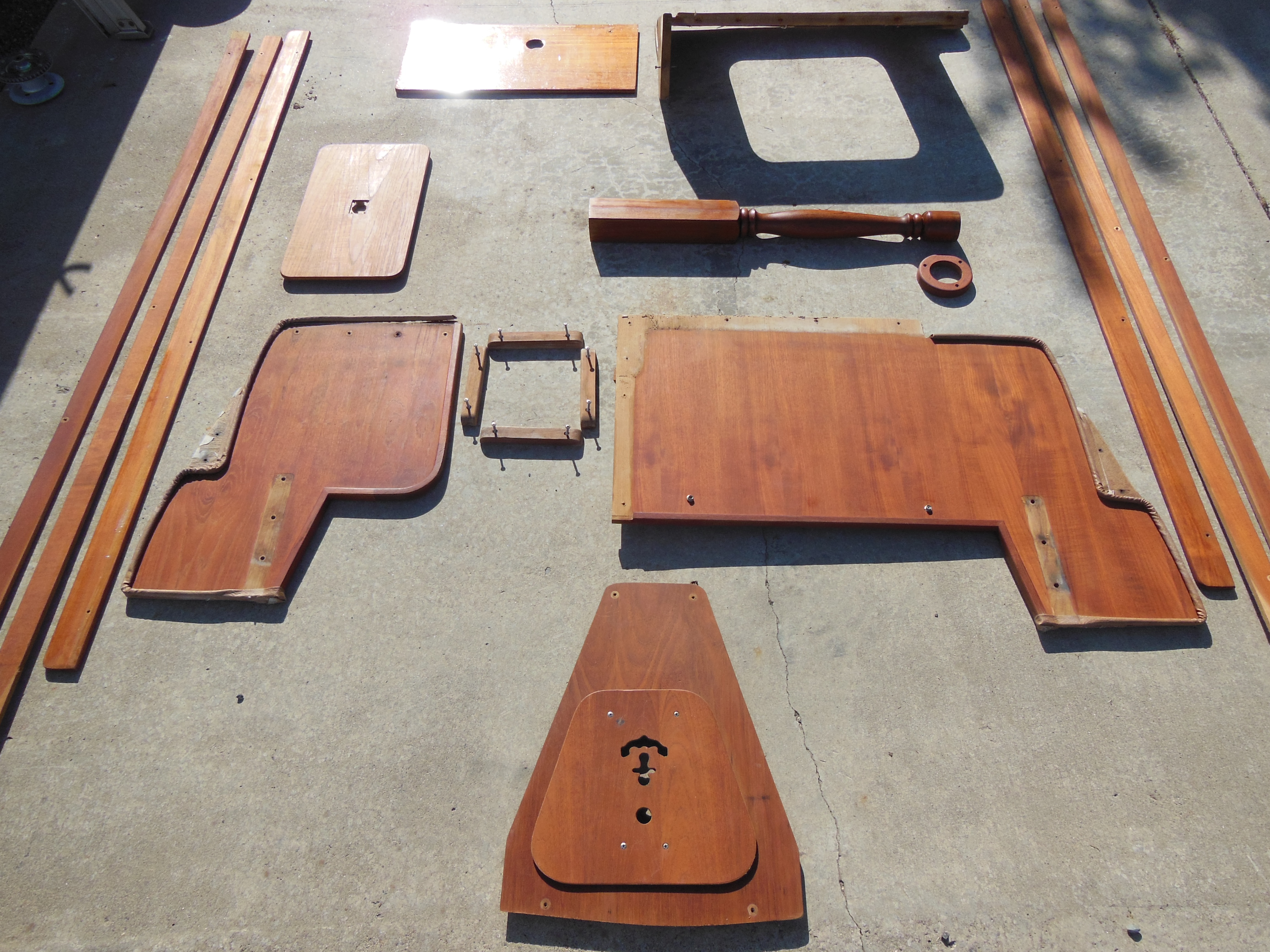 Refinish Your Interior Teak To Better Than New The