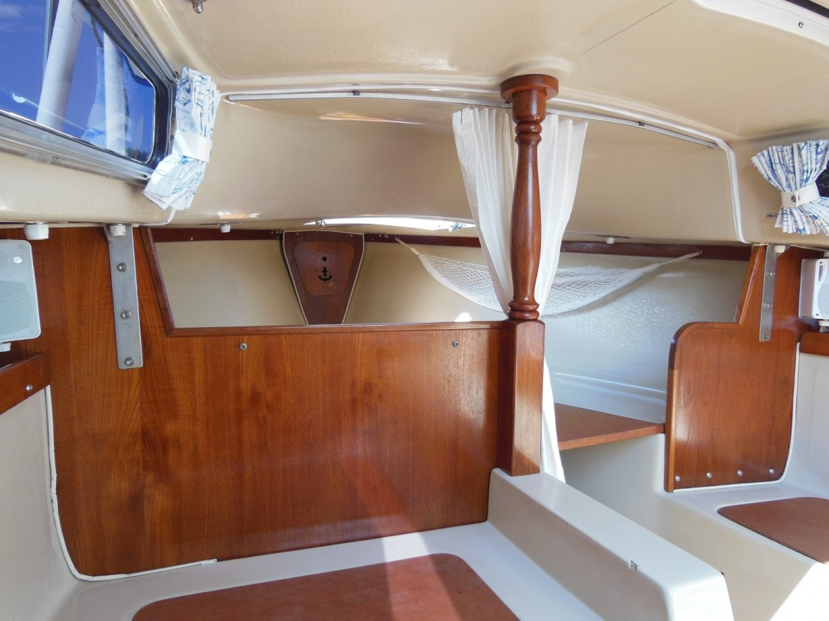 Refinish your interior teak to better than new the tingy sailor for How to restore a boat interior