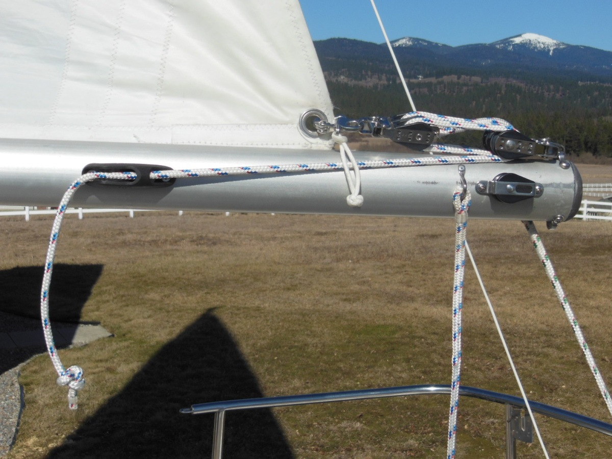 Flatten Your Mainsail Foot With An Outhaul