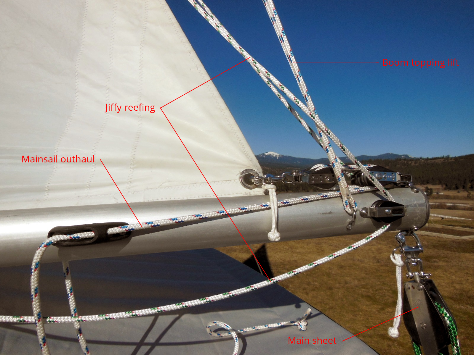 Flatten Your Mainsail Foot with an Outhaul – The $tingy Sailor