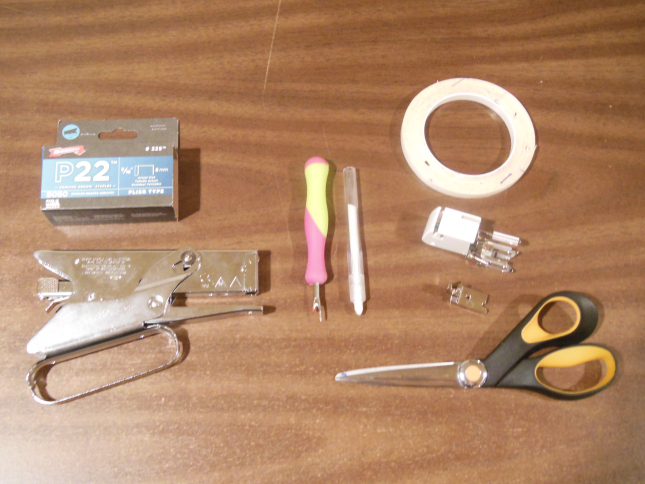 Recommended tools & supplies