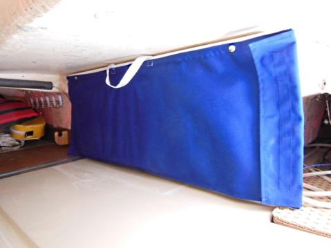 Crib board storage bag