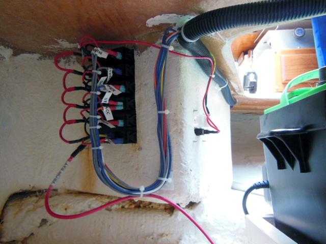 how to completely rewire your sailboat the tingy sailor