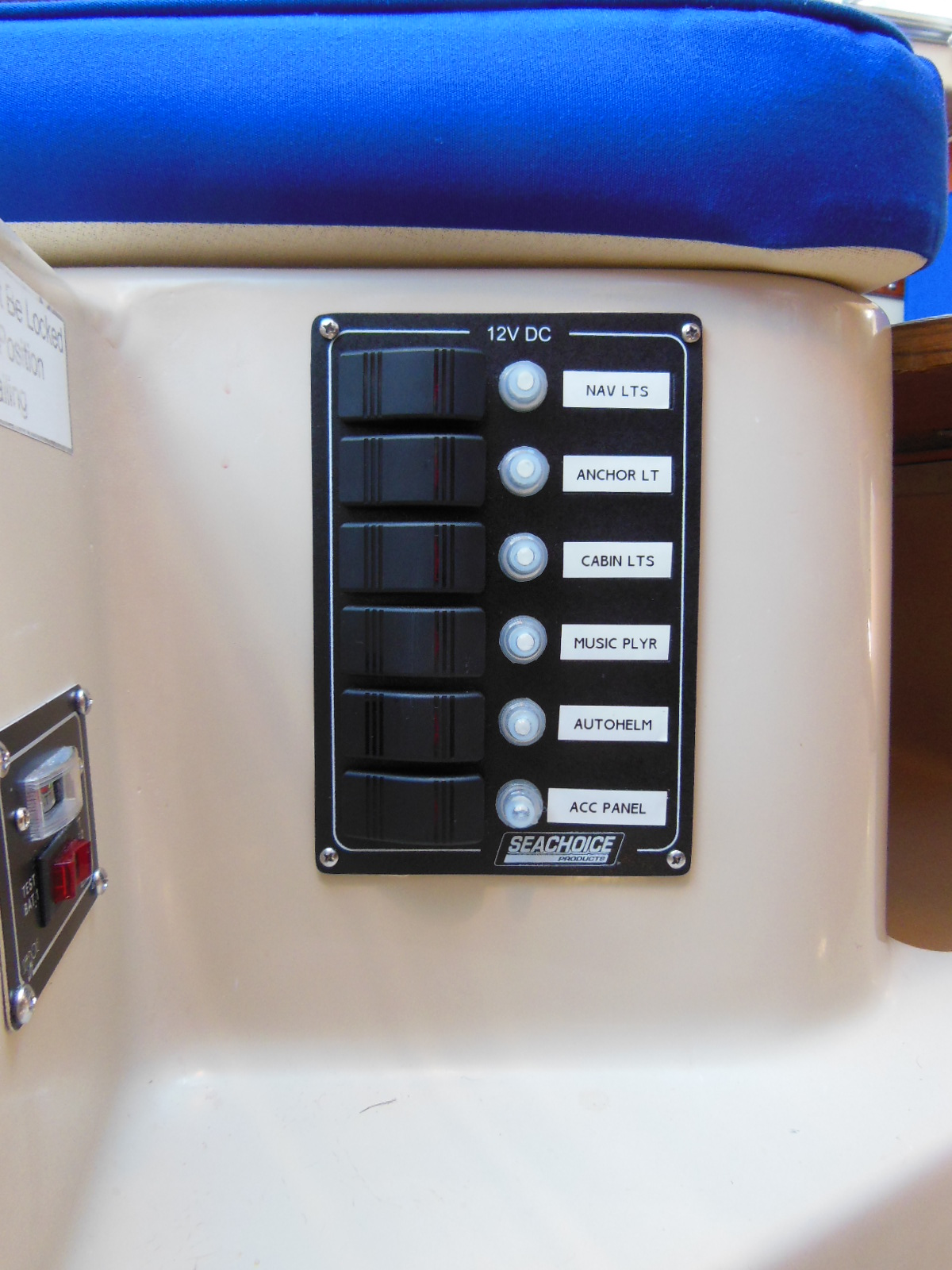 How To Completely Rewire Your Sailboat The Tingy Sailor Catalina 27 Wiring Diagram After New Panel And Battery Test Meter
