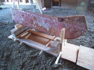 Refinish your swing keel