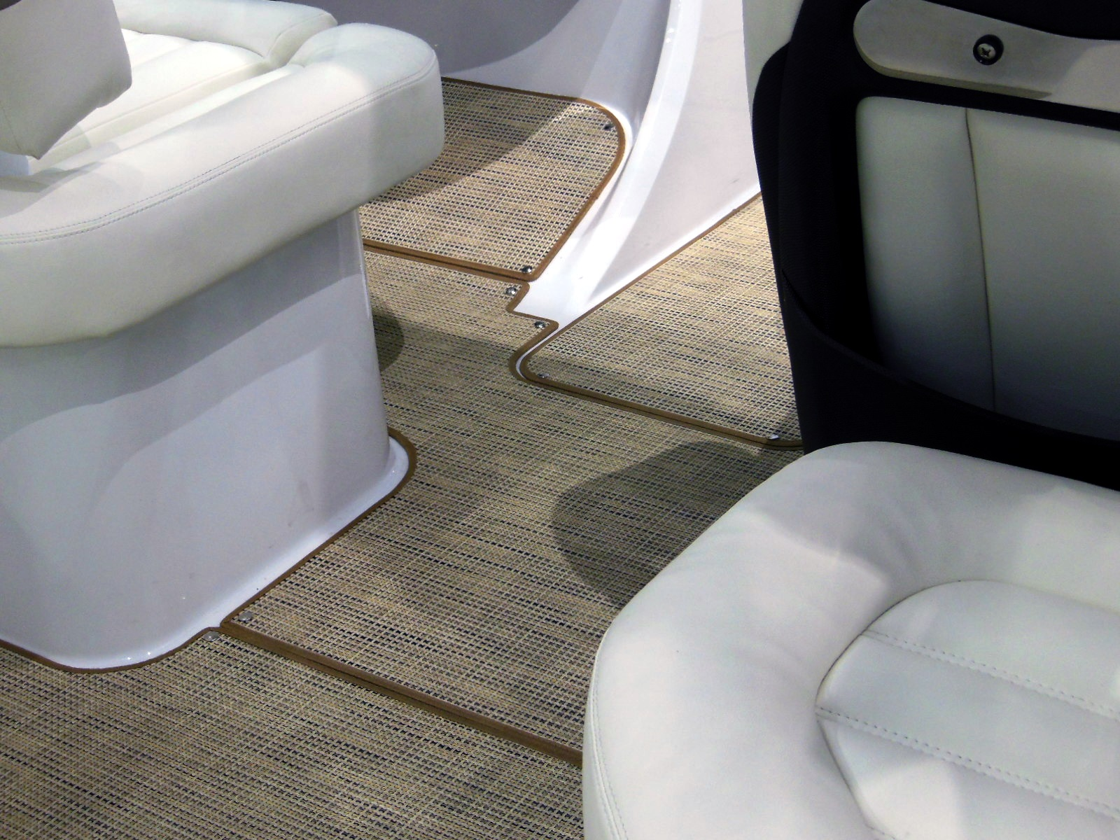 floor soft pinterest and pvc woodplasticdeck images boat synthetic decks mats best patio on teak decking