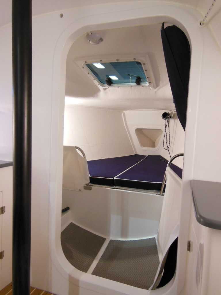 The interior of the J88 looks like a space shuttle