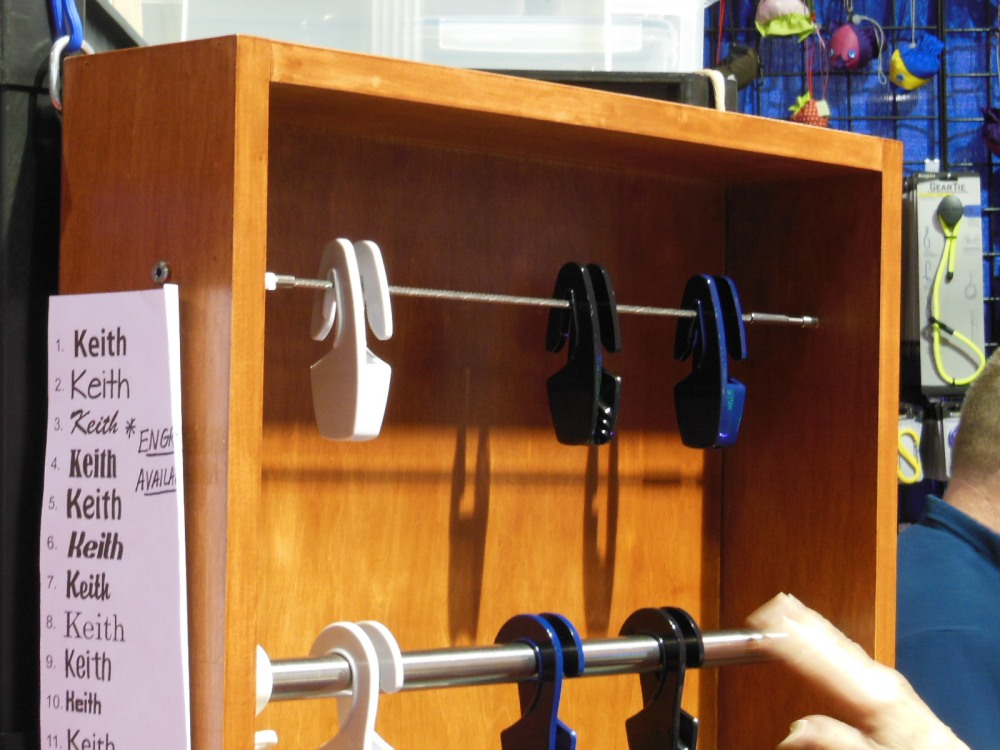 Quick and easy fender hangers