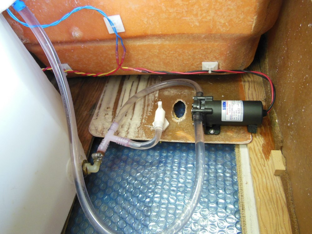 Pump wiring and plumbing