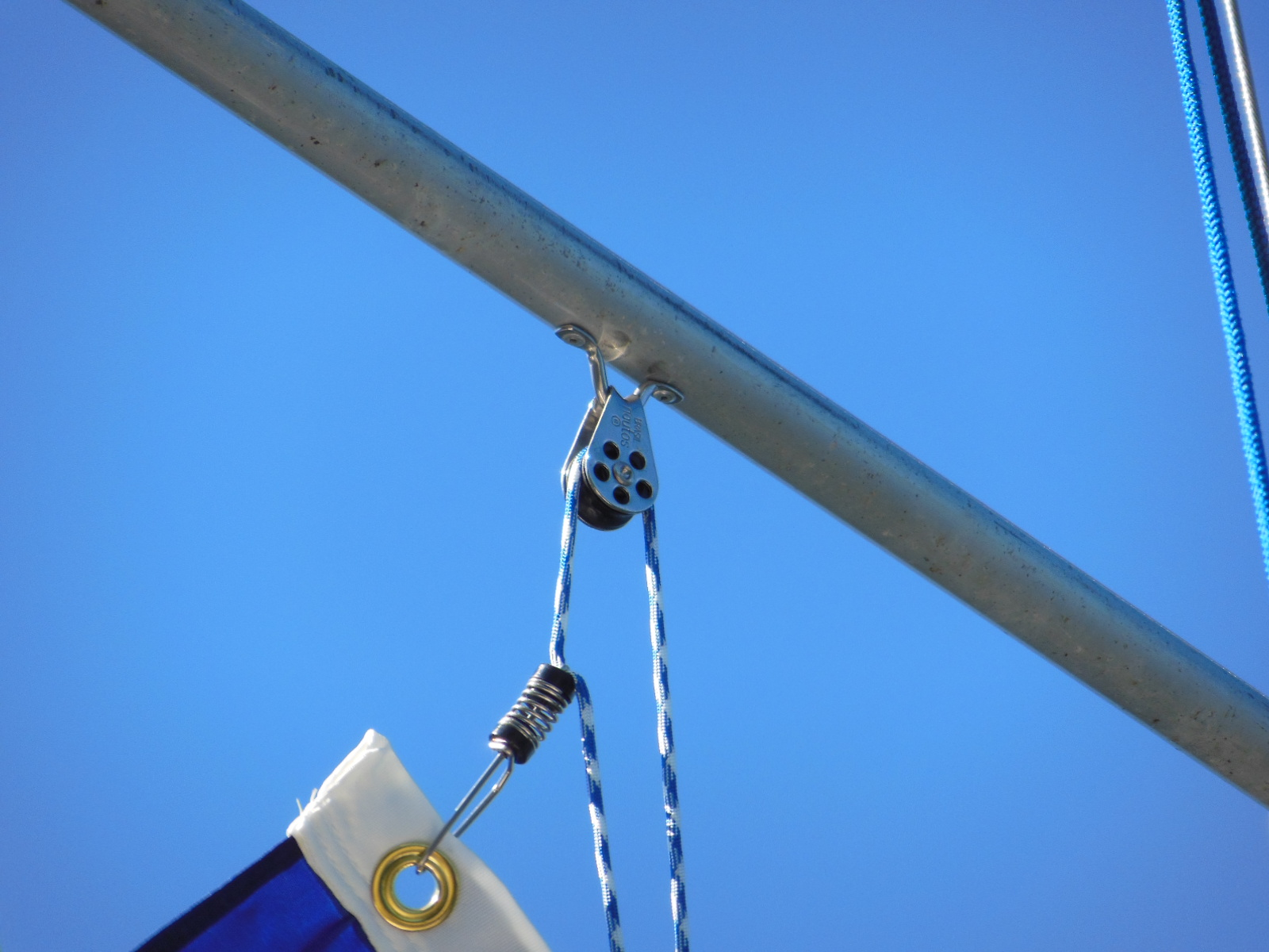 Make A Flag Halyard To Fly Your Favorite Colors The