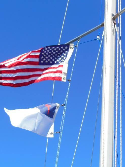 Easy to make flag halyard