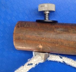 Low-cost tiller lock