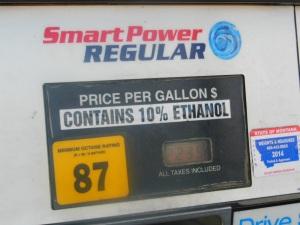 Beware of moisture-absorbing ethanol